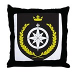 King of Northshield Throw Pillow