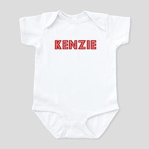 Retro Kenzie (Red) Infant Bodysuit