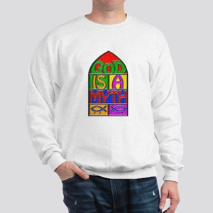 God Is A Myth Heavy Sweatshirt