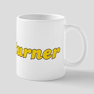 Retro Woodturner (Gold) Mug
