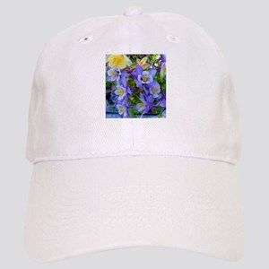Columbine Flowers Cap