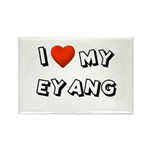 I Love My Eyang Rectangle Magnet (10 pack)