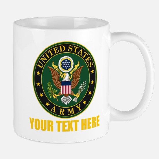 U.S. Army Emblem Personalized Mug