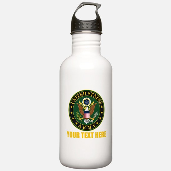 U.S. Army Emblem Perso Water Bottle