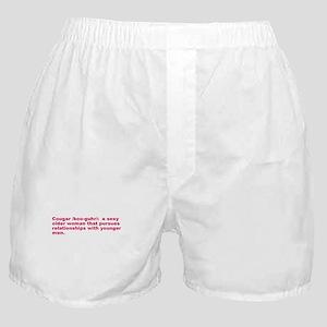 COUGAR DEFINITION SHIRT T-SHI Boxer Shorts