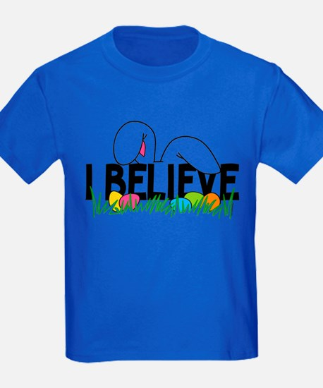 Believe In The Easter Bunny T