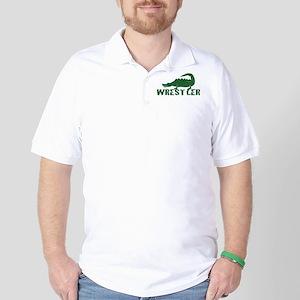 Alligator Wrestler Golf Shirt