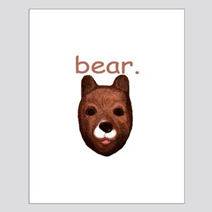 Bear Small Poster