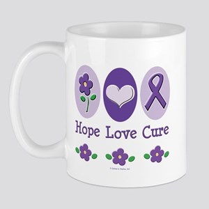 Purple Ribbon Alzheimer's Mug