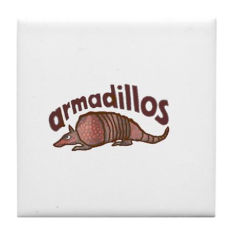 Armadillo Tile Coaster
