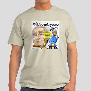 Donkey Whisperer Ash Grey T-Shirt