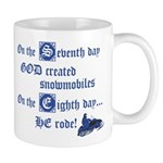On the Seventh Day God Create Mug