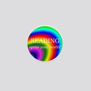 Reading World Mini Button