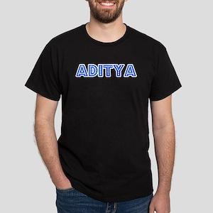 Retro Aditya (Blue) Dark T-Shirt