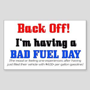 Fuel Rectangle Sticker