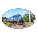 Spirit Of Conrail Oval Sticker