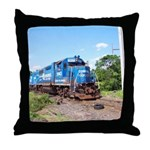 Spirit Of Conrail Throw Pillow