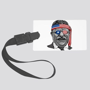 Theodore Roosevelt Independence Large Luggage Tag
