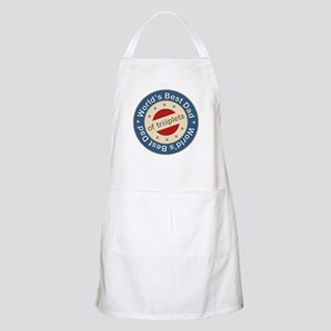 World's Best Dad of Triplets Boys Girl BBQ Apron