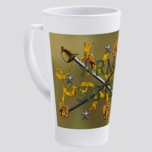 Harvest Moons Army Sister 17 oz Latte Mug