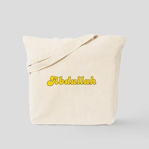 Retro Abdullah (Gold) Tote Bag