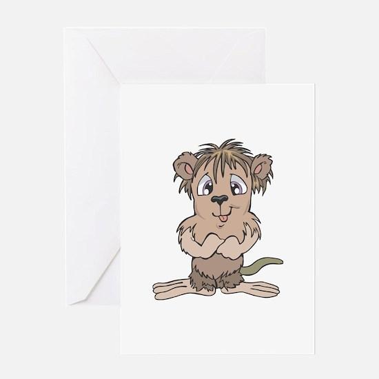 Cute Little Mole Greeting Card