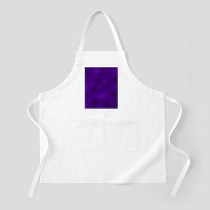 Purple Lavender Dark Light Modern Dots Light Apron