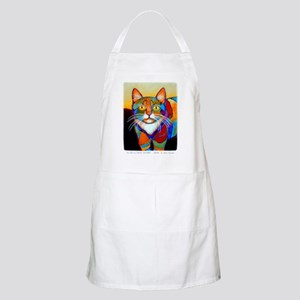 Cat-of-Many-Colors Apron