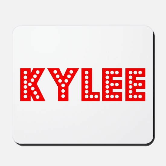 Retro Kylee (Red) Mousepad