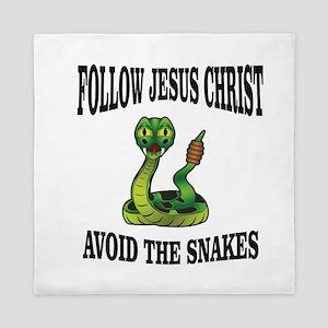 No snakes follow JC Queen Duvet