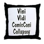 Comic Con Throw Pillow