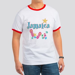 Jamaica Flip Flops - Ringer T