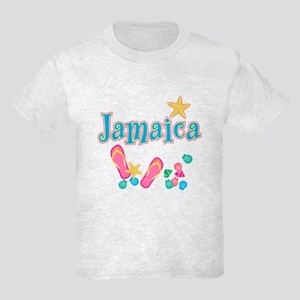 Jamaica Flip Flops - Kids Light T-Shirt