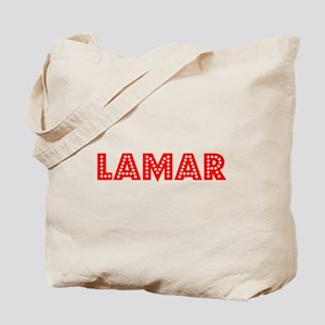 Retro Lamar (Red) Tote Bag