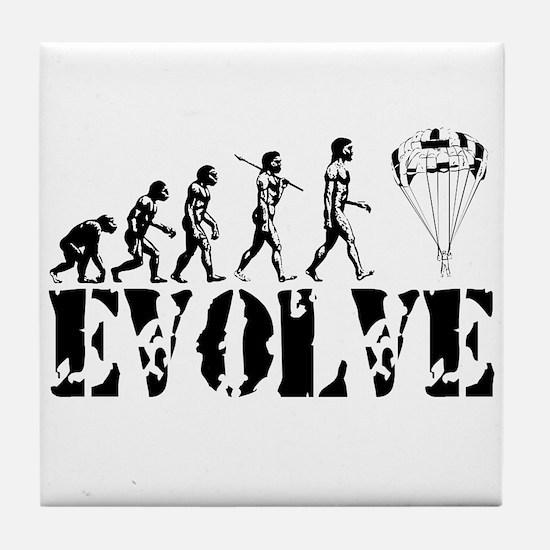 Skydiving Evolution Tile Coaster