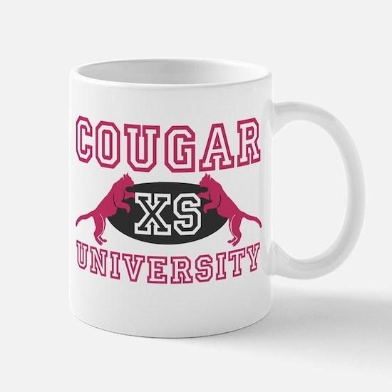 COUGAR UNIVERSITY T-SHIRT I L Mug