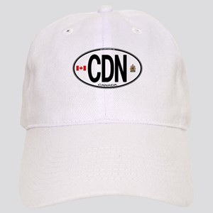 Canada Country Code Oval Cap