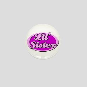 Lil' Sister Mini Button