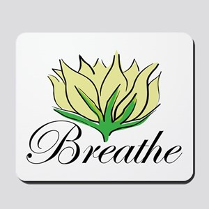 Yoga Breathe Mousepad