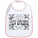 New Orleans Wrought Iron Design Bib