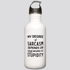 My Degree of Sarcasm Depends on Your Degree of Stu