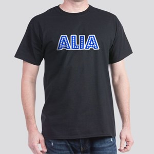 Retro Alia (Blue) Dark T-Shirt