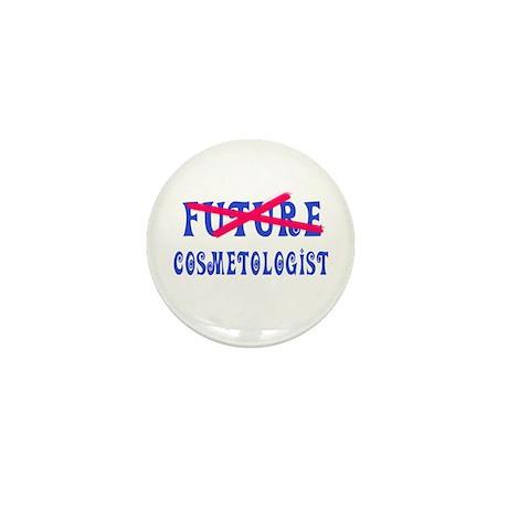 No Longer Future Cosmetologist Mini Button (10 pac