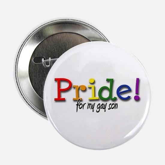 "Pride Gay Son 2.25"" Button"