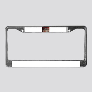 Spanner in the works License Plate Frame
