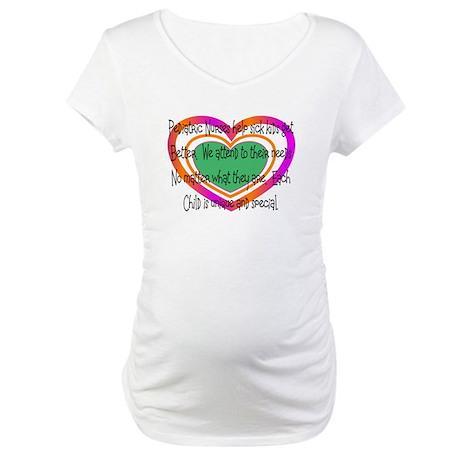 PEDS Nurse Maternity T-Shirt