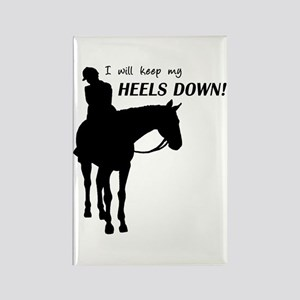 Keep My Heels Down Rectangle Magnet