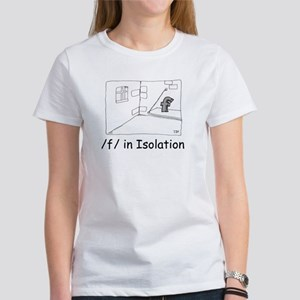 F in isolation Women's T-Shirt