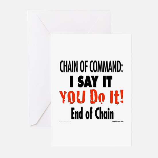 Chain of Command Greeting Cards (Pk of 10)
