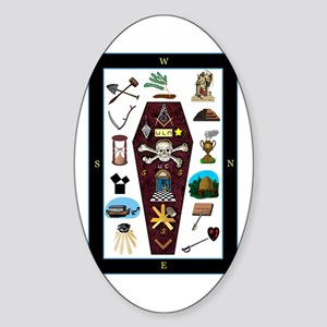 Master's Carpet Sticker (Oval)